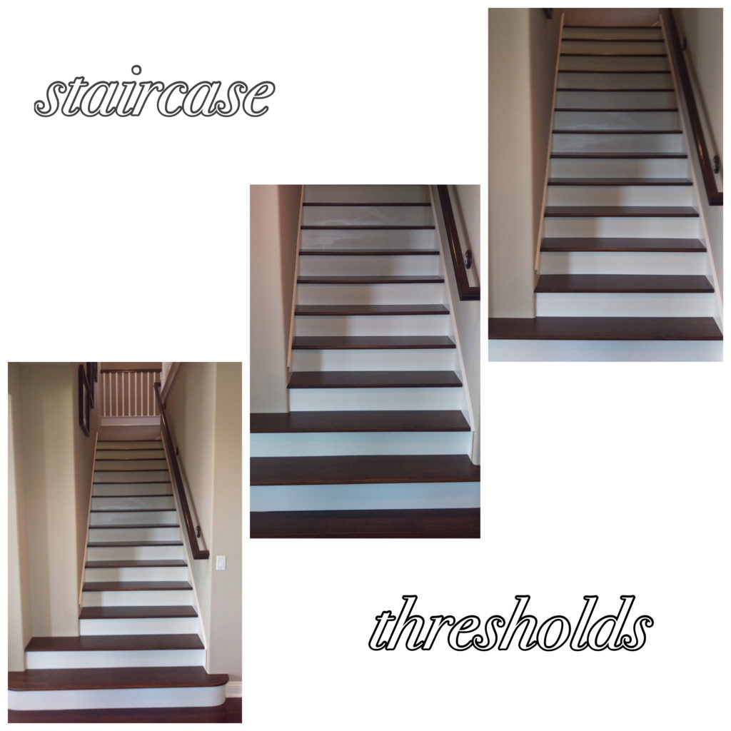 Staircase thresholds